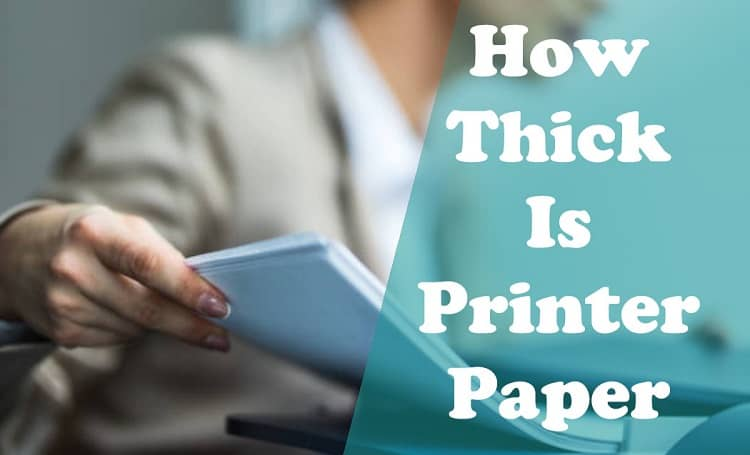 thickness of paper gsm