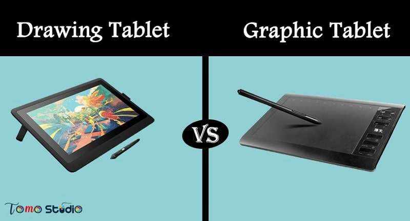 drawing tablet vs graphic tablet