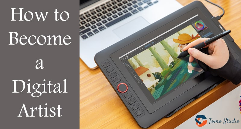 how to become a better digital artist