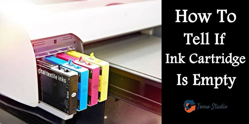 how to tell if ink cartridge is empty