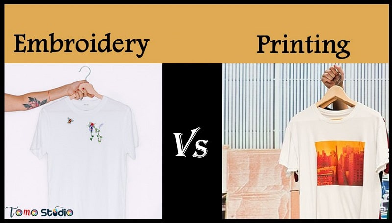 printing vs embroidery