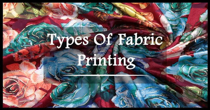 different types of prints on fabric