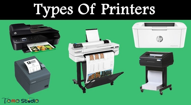 classification of printers