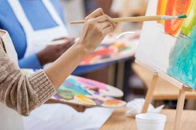 how to start oil painting