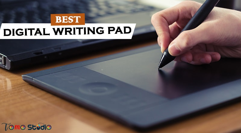 digital notepad with pen