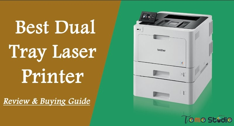 printer with two paper trays