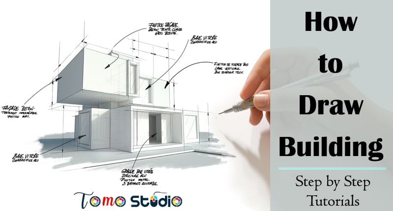 easy buildings to draw