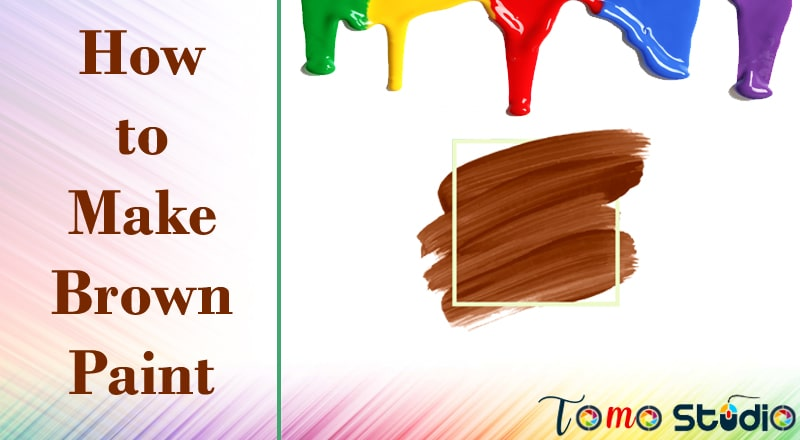 how to make brown colour by mixing two colours