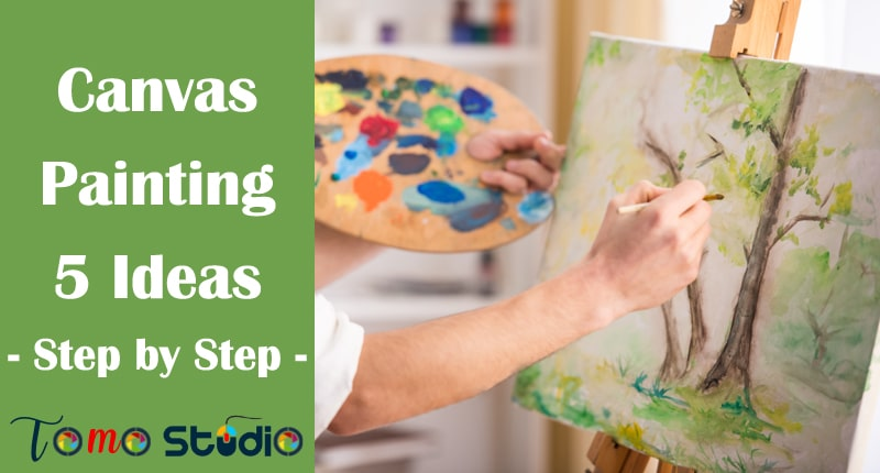 acrylic painting for beginners on canvas