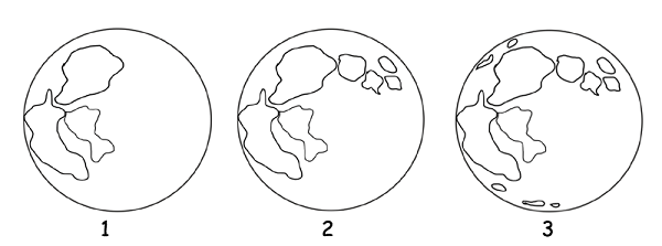 how to draw a moon