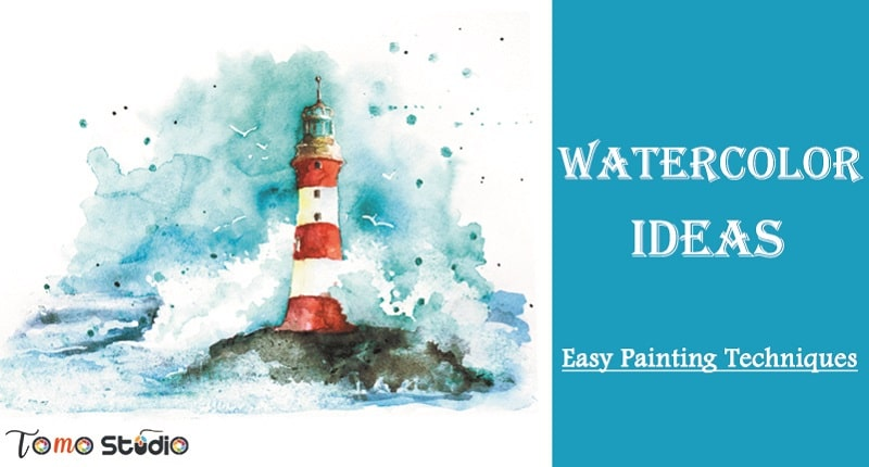 watercolor ideas for beginners